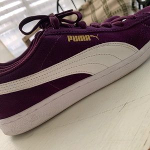 Purple puma tennis!